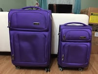 Two purple softshell IT luggage set Surrey, V4N 2G1