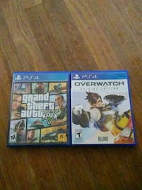 two Sony PS4 game cases Abilene, 79603