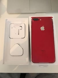 iPHONE 7 RED 32GB LIBRE PERFECTO ESTADO 6081 km