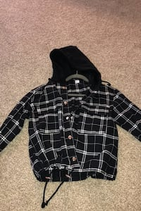 Cropped flannel from H&M