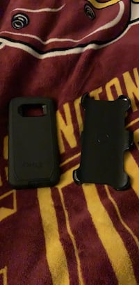 black Otter Box iPhone case