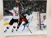 Jason Spezza Autographed 8x10 Photo  Edmonton, T6L 2K3