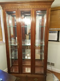 Heavy Wooden China Cabinet Baltimore, 21229