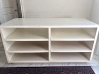 Shelf for organizing fashion or household items. Shelves can pull out  Nobleton, L0G 1N0