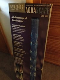 Lamps/Homedics Aquascape bubbling light box very tall nice lighted,never used Ansonia, 06401