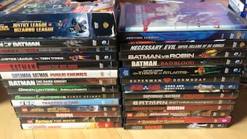 DC animted movies on dvd collection