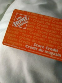 Selling my home depot cards 1000 for 1300 Toronto