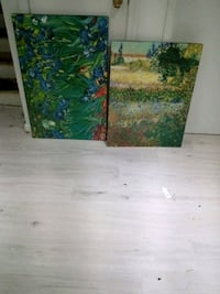 Black edged Van Gogh and Monet prints Dollard-des-Ormeaux, H9B 2H1