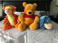 Winnie The Pooh, Tigger and Eyeore