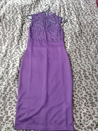 Fitted purple dress  Toronto, M6K 2K5
