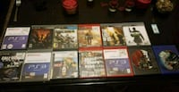 assorted Sony PS3 game cases Fayetteville, 28304