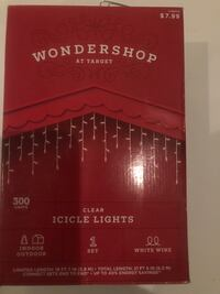 Brand new box of 300 icicle lights! I have multiple boxes  Encinitas, 92024