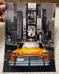 Time square Art print- Glossy (new)