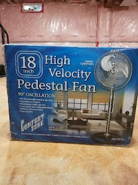Stainless brand new padestral fan TORONTO