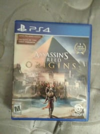 Sony PS4 Assassin's Creed game case