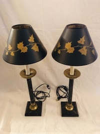 Lamps - candlestick style
