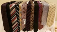 Brand new: 13 mens ties and wool scarves Markham, L6E 1C7
