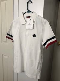 White and black polo shirt Toronto, M3J 1P1