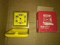 yellow Equity travel alarm clock Omaha, 68104