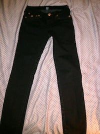 Girls True Religion black jeans