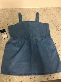 Girls guess jean tank new with tags size 8/10 540 km