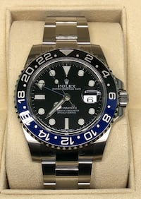 ROLEX GMT MASTER II BATMAN - NEW!  Costa Mesa, 92627