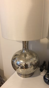 white and gray table lamp New York, 11211