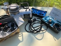 Mini air compressor with airbrush and accessories  Poughkeepsie, 12601