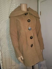 brown button-up coat Universal City, 78148