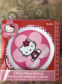 Hello Kitty place setting