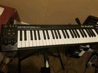 M-audio keystation 49es midi piano Riverdale Park, 20737
