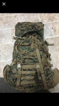 green and brown camouflage backpack Skiatook, 74070