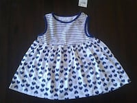 First Impressions Blue, White, and Silver Dress Pittsburg, 94565
