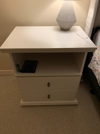 REDUCED!! MUST SELL!! Set of TWO nightstands from Ashley Furniture Edmonton, T5K