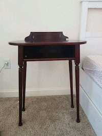 brown wooden  side table Bethesda, 20814