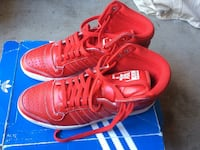 Adidas TOP TEN HI in RED, size 9.5  Keep in mind that these are SUPER RARE. Lynwood