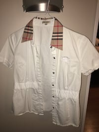 Woman's Burberry Dress Shirt Milton, L9T 0S8