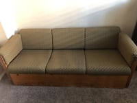 Solid wood couch Las Vegas, 89129