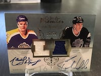 Autographed hockey cards player card NHL auto jersey ask for price Calgary, T2Z 0Z9
