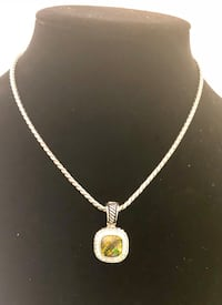 Green Crystal Necklace Chino Hills, 91709