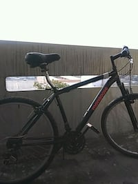 black and gray hardtail bike 2292 mi