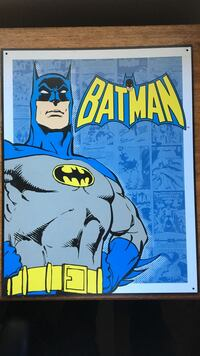 Retro Batman Aluminum sign Des Moines, 50315