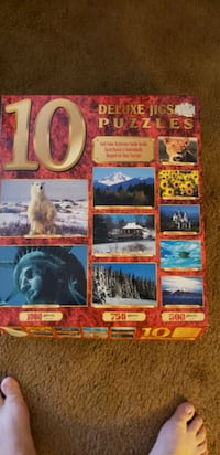 Ten Deluxe Jigs Puzzles Lincoln, 68507