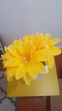 Yellow Artificial Flowers Los Angeles