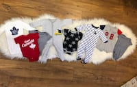 Baby Boy Clothing & PJs Lot Sporty Style Mississauga