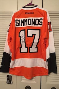 Flyers - Signed Simmonds Jersey , 19018