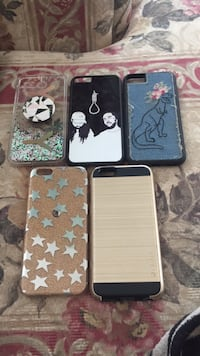 four assorted color iPhone cases Summerland, V0H