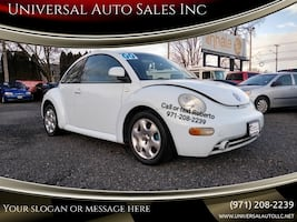 2000 Volkswagen New Beetle GLS 2dr Coupe