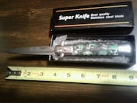 SUPER KNIFE- SKULL KNIFE with special features Joplin, 64804