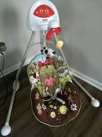baby's white and red cradle n swing Katy, 77449